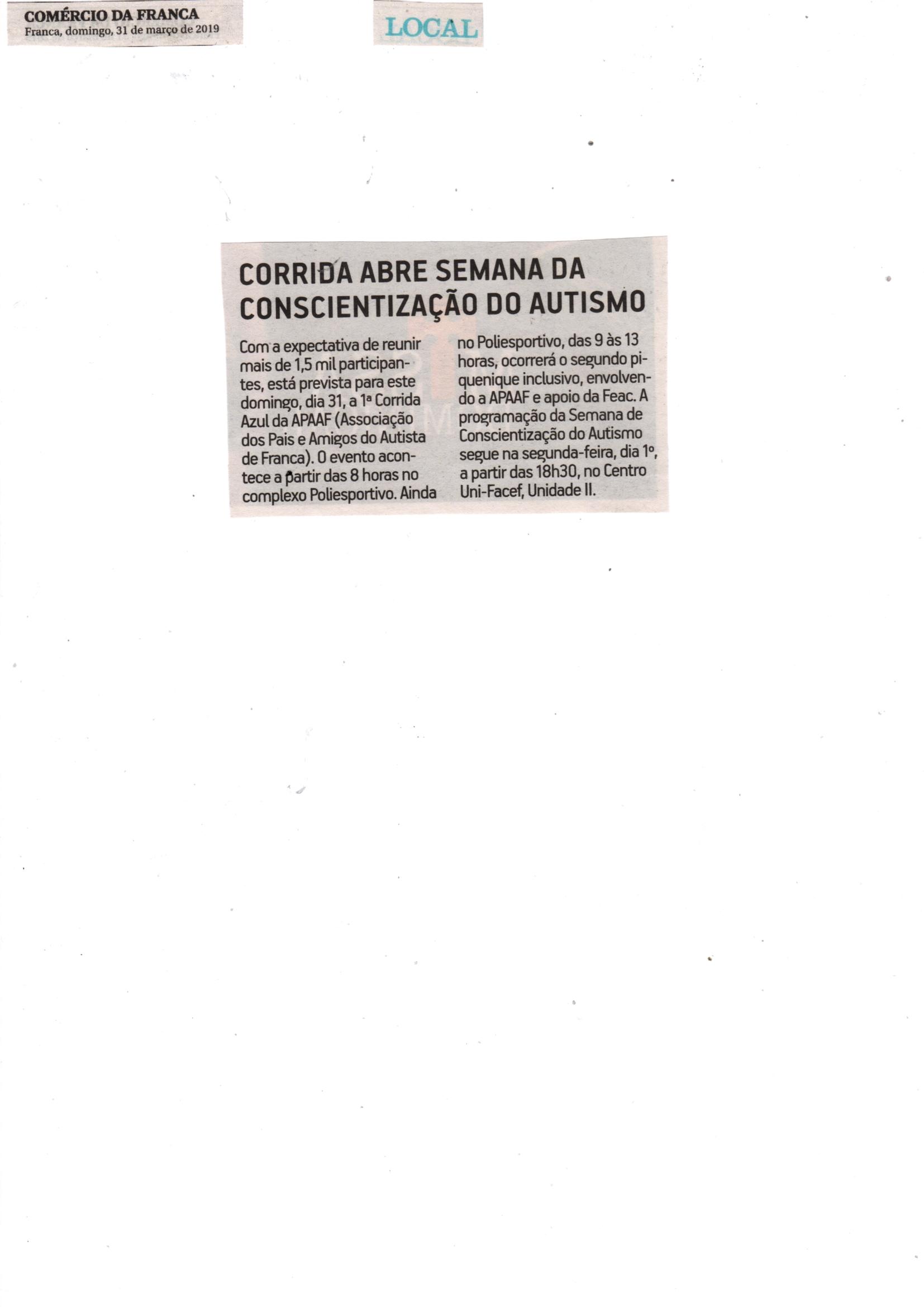644b8cd4d 31/03/19 e 01/04/19 - DIÁRIOVERDADE - Visita - Major Olímpio vem a Franca e  visita Santa C..