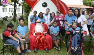 Visita do Papai Noel