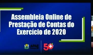 Assembleia de Prestação de Contas Online: