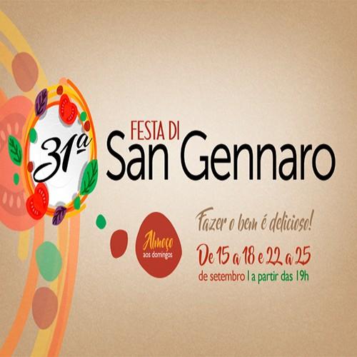 31a. Festa di San Gennaro - edição de 2016